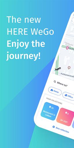 HERE WeGo Maps & Navigation android2mod screenshots 1