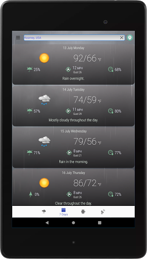 Hyperlocal Weather (Dark Sky Powered by) & Radar screenshots 11