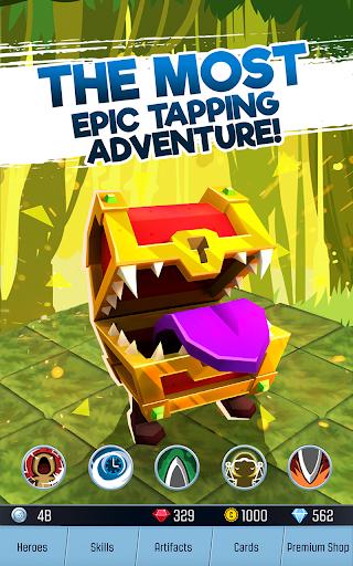 Tap Adventure Hero: RPG Idle Monster Clicker APK MOD – Monnaie Illimitées (Astuce) screenshots hack proof 2