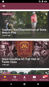 Minnesota Gophers Official App For Pc – Download For Windows 10, 8, 7, Mac 1