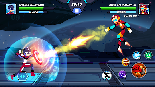 Stickman Fighter Infinity – Super Action Heroes 2