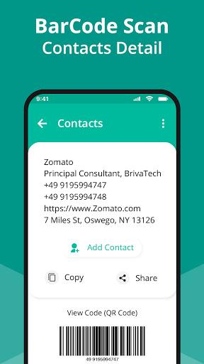 QR Code Scanner App - Barcode Scanner & QR reader android2mod screenshots 3