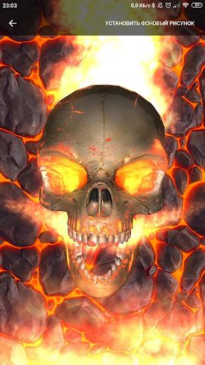 Skull wallpaper 1.6.9.79 screenshots 1