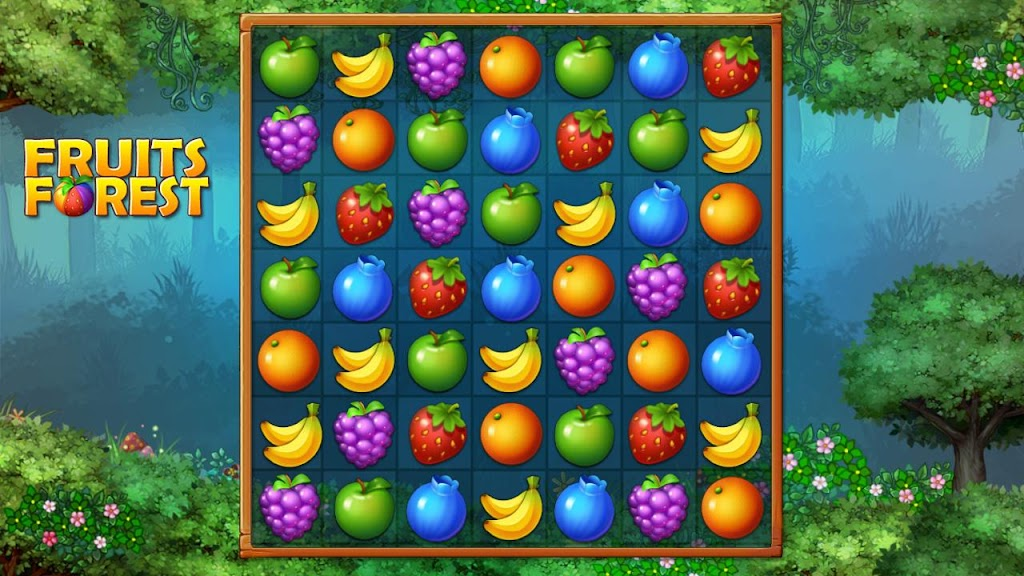 Fruits Forest : Rainbow Apple poster 2