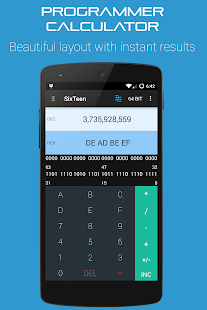Programmers Calculator Pro Screenshot