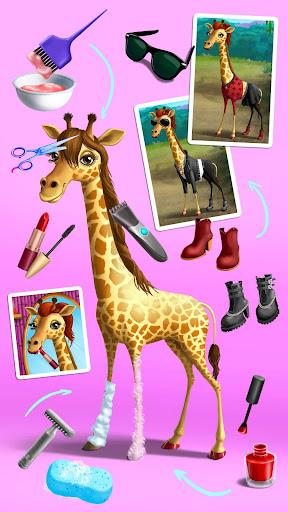 Jungle Animal Hair Salon - Styling Game for Kids 4.0.10018 screenshots 8