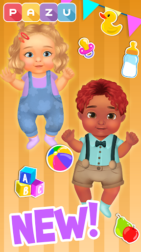 Chic Baby 2 - Dress up & baby care games for kids  screenshots 8