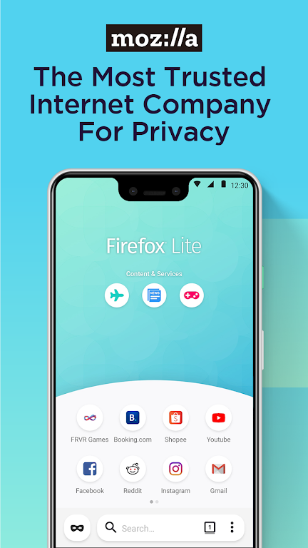 Firefox Lite — Fast and Lightweight Web Browser  poster 7