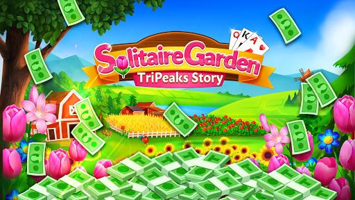 Solitaire Garden - TriPeaks Story 1.8.1 screenshots 5