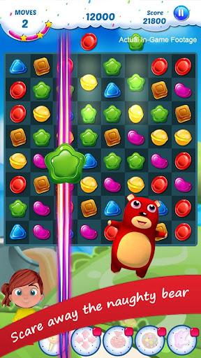 Gummy Candy - Match 3 Game 1.8 screenshots 4
