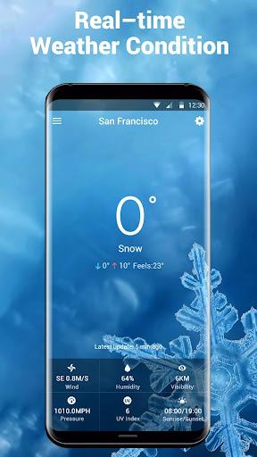 weather report app& widget ⛅ . screenshot 3