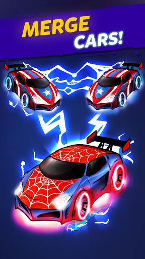 Merge Cyber Cars: Sci-fi Punk Future Merger  screenshots 5