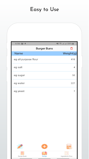 Recipe Cost Calculator - Baker Assistant - Bakery 1.0.1 screenshots 3