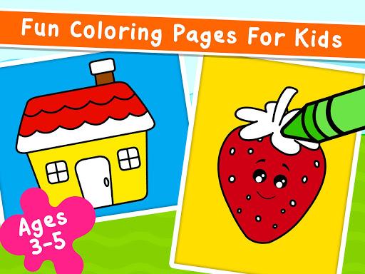 Coloring Games for Kids - Drawing & Color Book Apkfinish screenshots 9