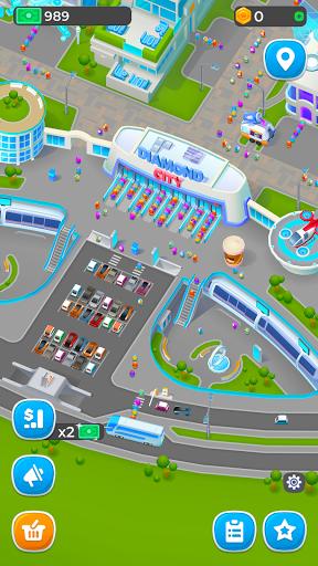 Diamond City: Idle Tycoon apkpoly screenshots 6