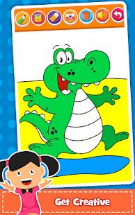 Coloring Games : PreSchool Coloring Book for kids screenshots 18