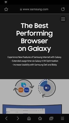Samsung Internet Browser Beta  screenshots 2
