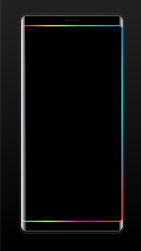 Edge Lighting Colors - Round Colors Galaxy 9.0 Screenshots 3