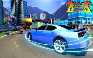 Rhino Robot Car Transformation: Robot City battle