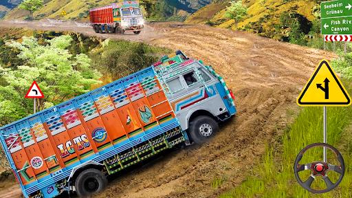 Real Indian Cargo Truck Simulator 2020: Offroad 3D  screenshots 9