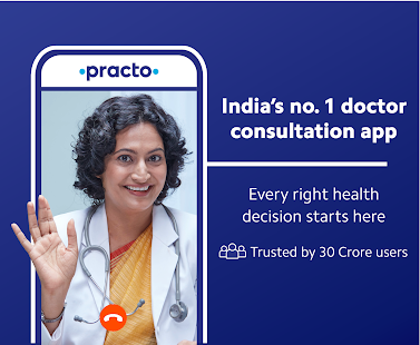 Practo: Online Doctor Consultations & Appointments Screenshot