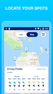 Weesurf: waves and wind forecast and social report
