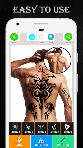 Tattoo Maker - Love Tattoo  Screenshots 1