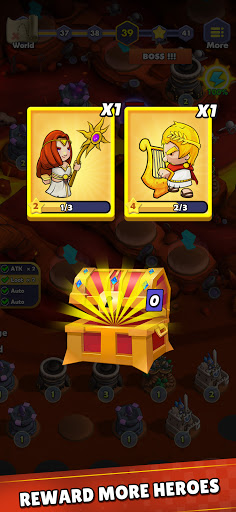 Mini War:Idle Tower Defense Varies with device screenshots 5