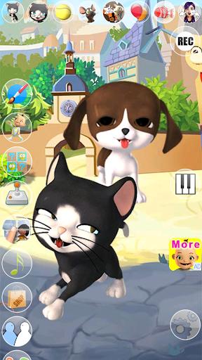 Talking Cat and Dog Kids Games  screenshots 4