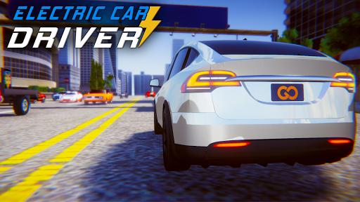 Electric Car Simulator: Tesla Driving 1.4 screenshots 10
