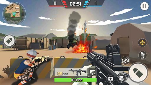 Gun Fire: Free Multiplayer PvP Shooting Game 3D  screenshots 1