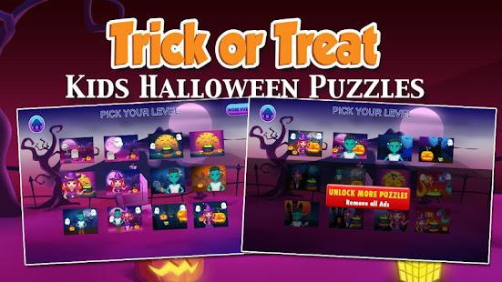 Kids Trick or Treat Puzzles 1.15 screenshots 1