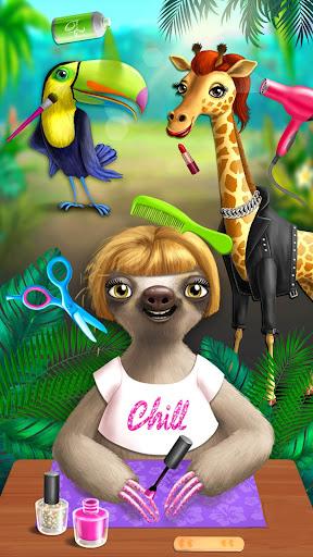 Jungle Animal Hair Salon - Styling Game for Kids 4.0.10018 screenshots 4