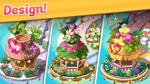 Ohana Island - Design Flower Shop & Blast Puzzle apkslow screenshots 4