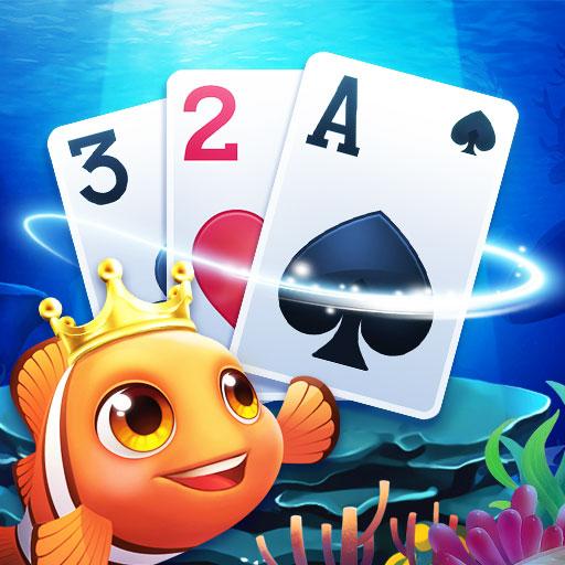Solitaire Balık - Klasik Klondike Kart Oyunu