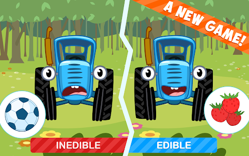 The Blue Tractor: Fun Learning Games for Toddlers 1.2.0 Screenshots 17