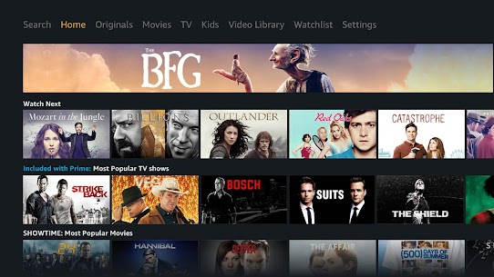 Prime Video – Android TV 1