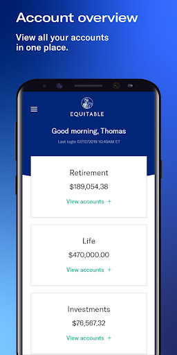 Equitable Mobile App screenshot 3
