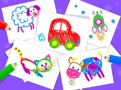 Toddler Drawing Academyud83cudf93 Coloring Games for Kids android2mod screenshots 15