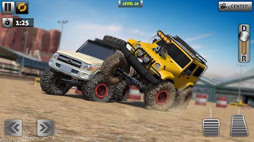Off Road Monster Truck Driving - SUV Car Driving screenshots 2