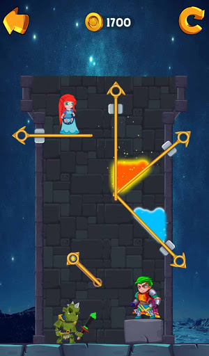 Hero Rescue PRO - Save The Girl - Pin Pull  screenshots 2