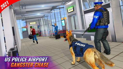 Police Dog Airport Crime Chase : Dog Games 3.8 Screenshots 8
