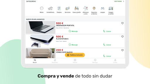 Milanuncios: Segunda mano, motor, pisos y empleo apktram screenshots 14