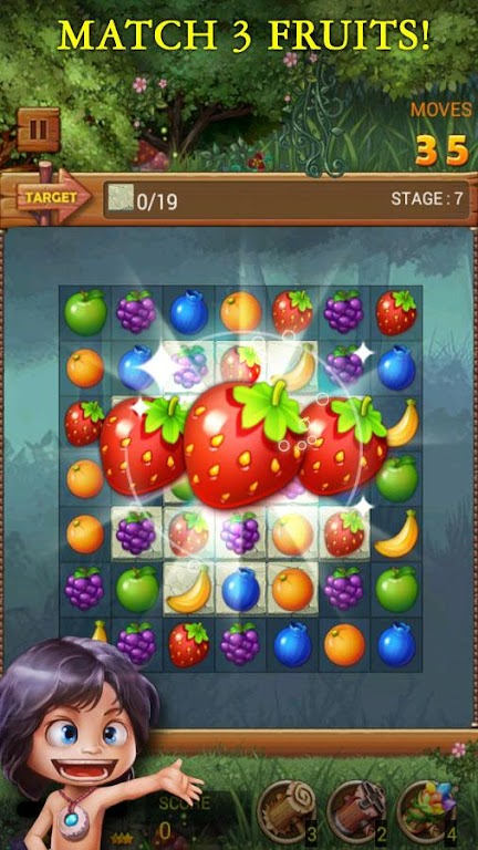 Fruits Forest : Rainbow Apple poster 3