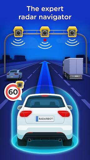 Radarbot Free: Speed Camera Detector & Speedometer  screenshots 1