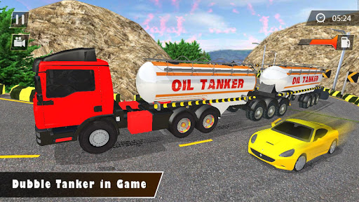 Indian Oil Tanker Cargo Truck Game apkpoly screenshots 7