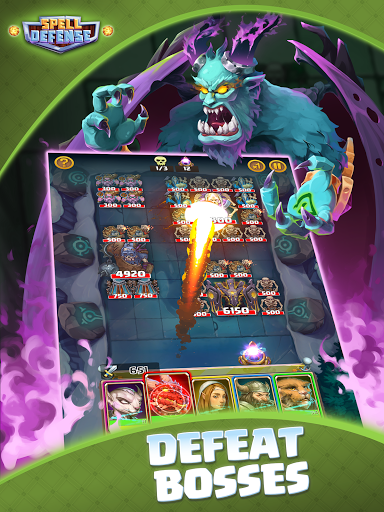 Spell Defense: Epic Bricks Breaker 603.120321 screenshots 7