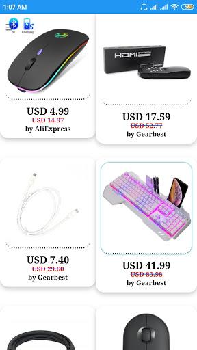 Foto do Computer Peripheral Mouse Keyboard PC Desktop Wire