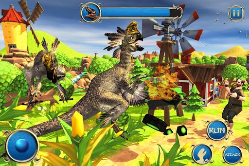 Wild Dino City Rampage: T-Rex Simulator apkmr screenshots 3