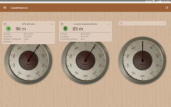 Accurate Altimeter PRO screenshot thumbnail